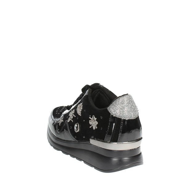<Laura Biagiotti Shoes Low Sneakers Black 5067