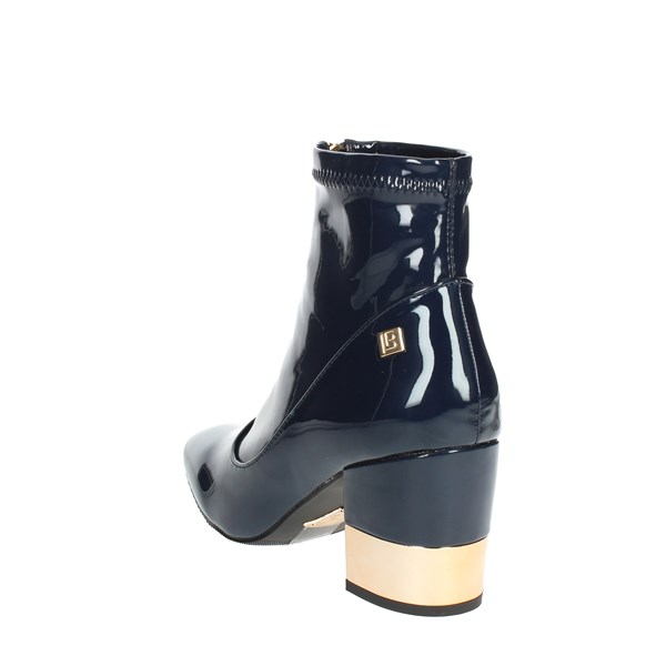 <Laura Biagiotti Shoes Ankle Boots With Heels Blue 5027