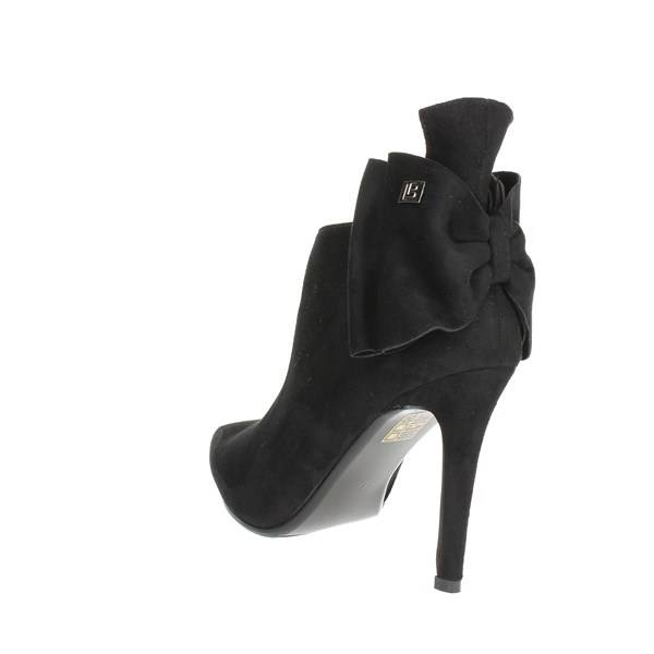 <Laura Biagiotti Shoes Ankle Boots With Heels Black 5245