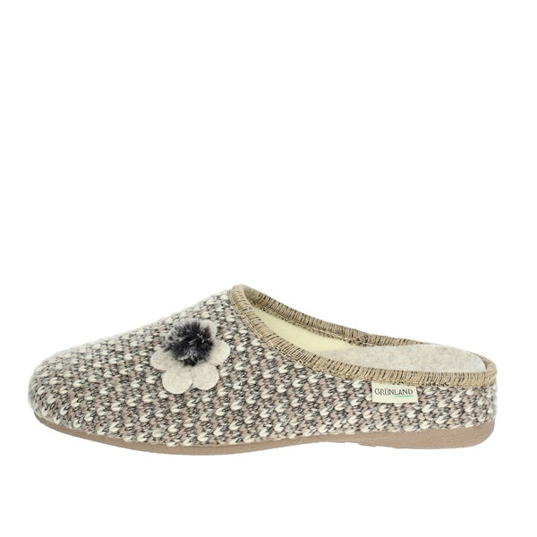 Grunland Shoes Slipper Beige CI380-47
