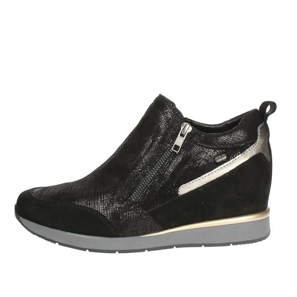 Valleverde Shoes High Sneakers Black 36501