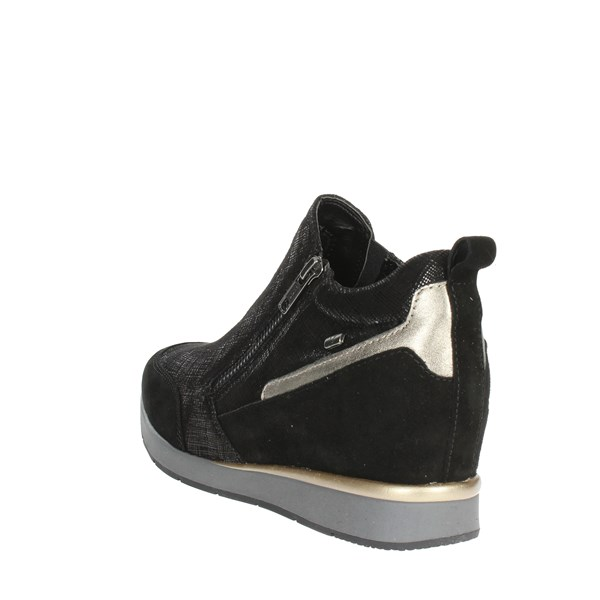 <Valleverde Shoes High Sneakers Black 36501