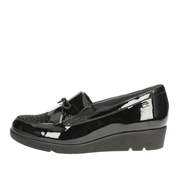 Valleverde Shoes Moccasin Black 45614