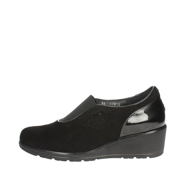 Valleverde Shoes Moccasin Black V17812