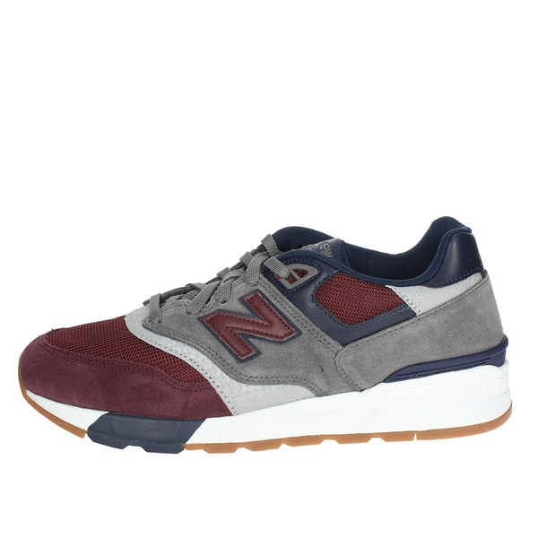 New Balance Scarpe Uomo Sneakers BORDEAUX ML597BGN