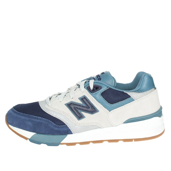 New Balance Scarpe Uomo Sneakers BLU ML597NGT