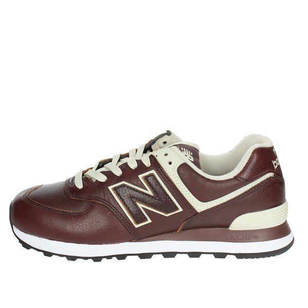 New Balance Scarpe Uomo Sneakers Bassa MARRONE ML574LPB