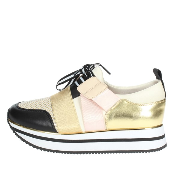 Fornarina Shoes Sneakers Platinum  PI19TINA3