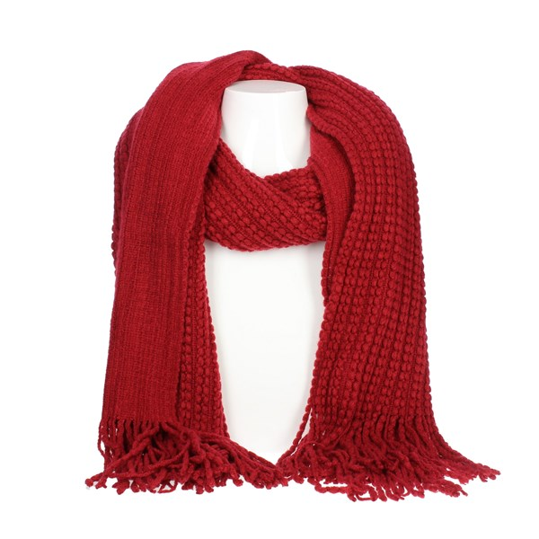 Shakly Accessories Scarves Burgundy 266072