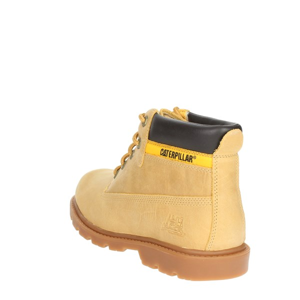 <Caterpillar Shoes Boots Yellow P102351