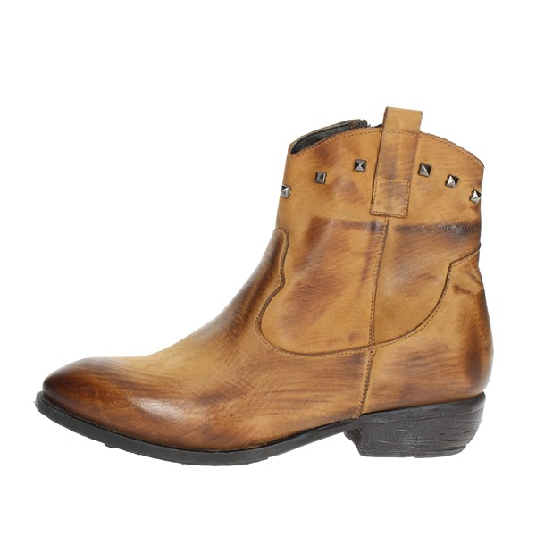 Tfa Shoes Ankle Boots Brown leather STELLA2