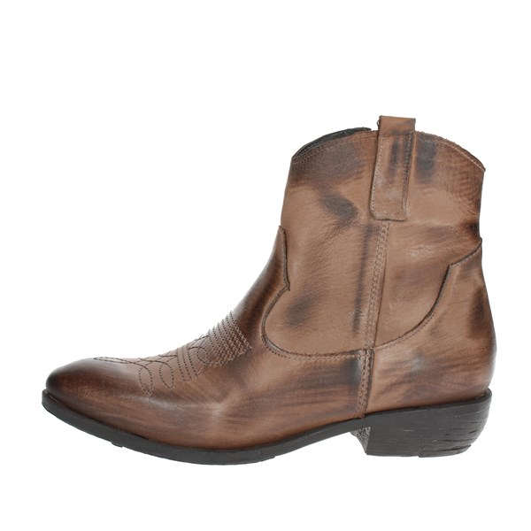 Tfa Shoes Ankle Boots Brown STELLA90