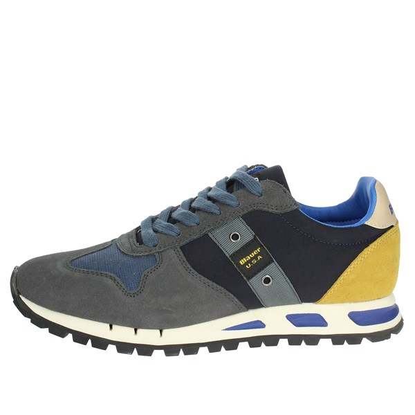 Blauer Shoes Sneakers Blue MUSTANG01