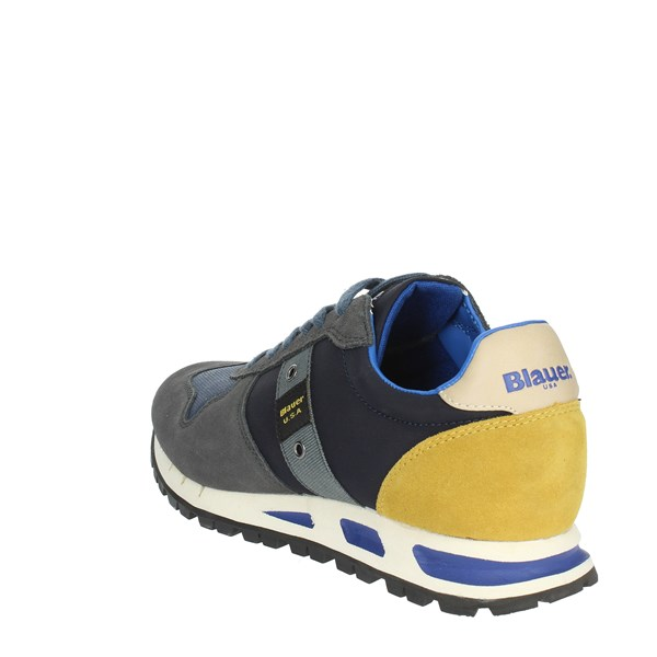 <Blauer Shoes Sneakers Blue MUSTANG01