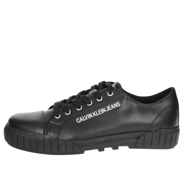 Calvin Klein Jeans Shoes Sneakers Black S1754