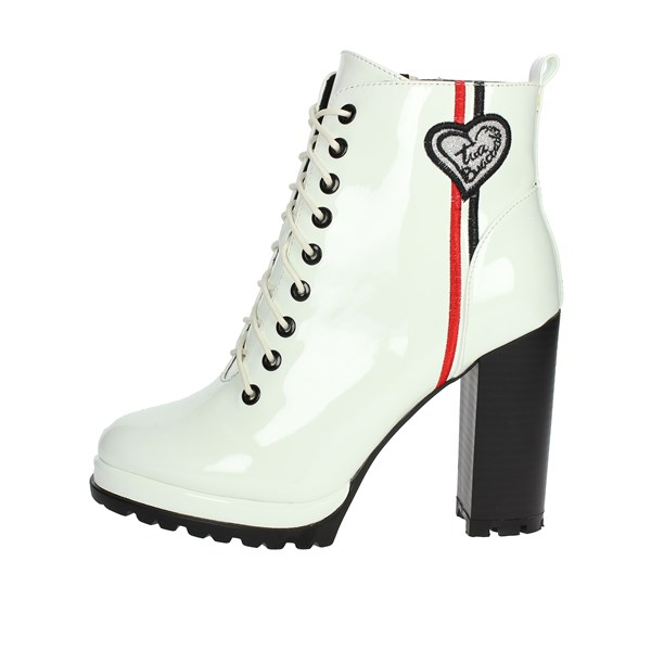 Braccialini Shoes Ankle Boots White TA89