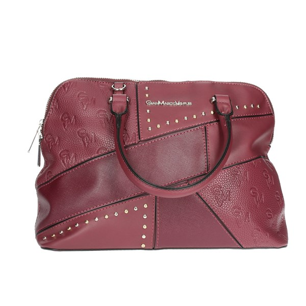 Gianmarco Venturi Accessories Handbags Burgundy G10-0067M09