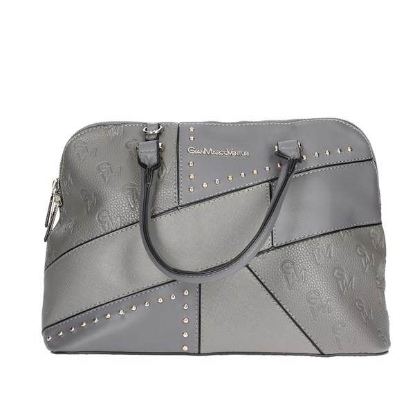 Gianmarco Venturi Accessories Handbags Grey G10-0067M09