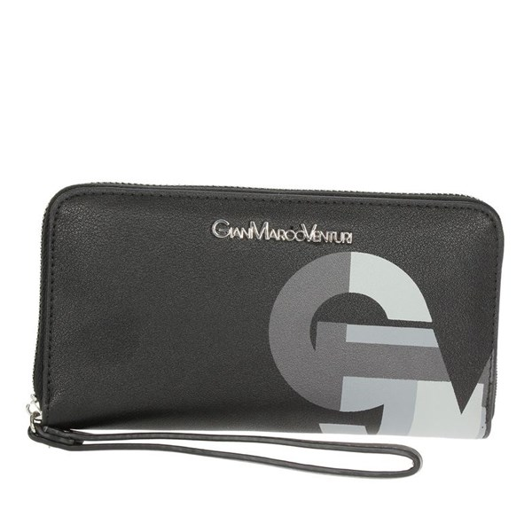 Gianmarco Venturi Accessories Wallet Black G56-0045P44