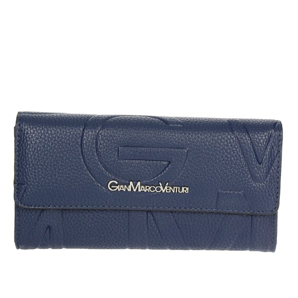 Gianmarco Venturi Accessories Wallet Blue G56-0047P33