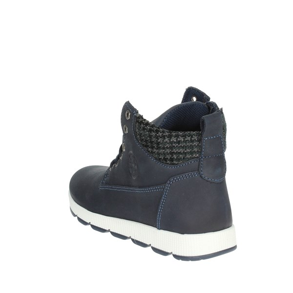 Mkids Shoes Laced Blue MK6755F8I.A