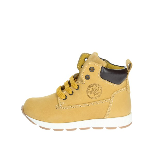 Mkids Shoes Laced Yellow MK2032D8I.C