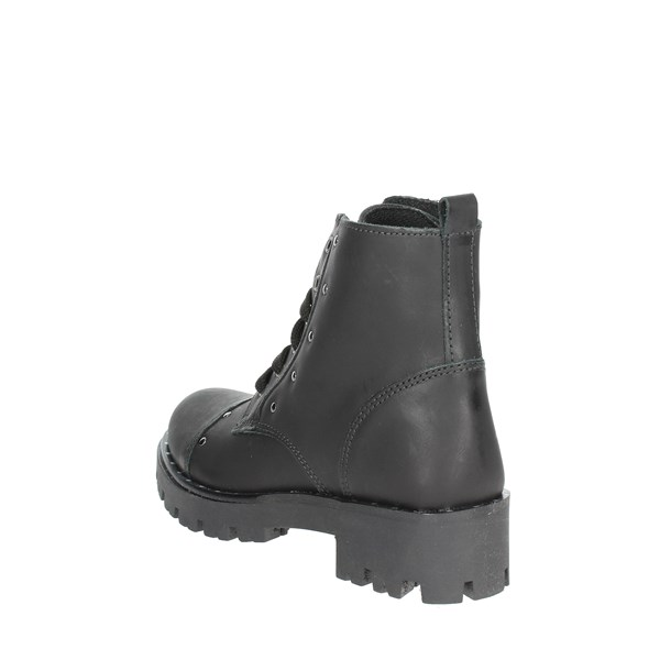 Mkids Shoes Boots Black MK6643F8I.A