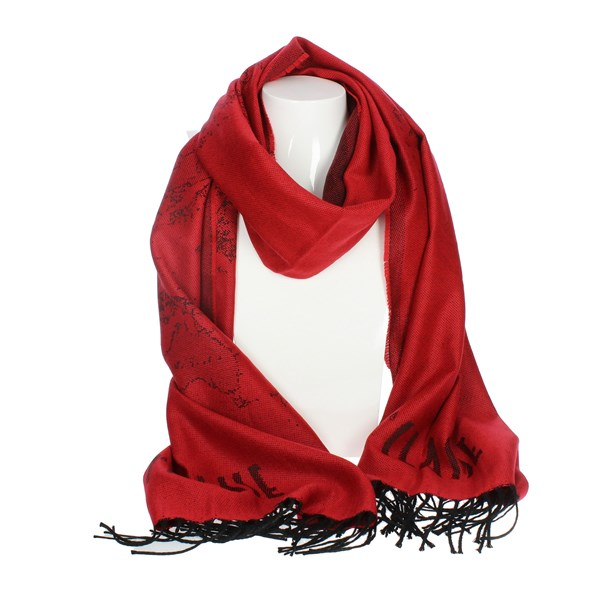 1 Classe Accessories Scarves Red K 2458 0276