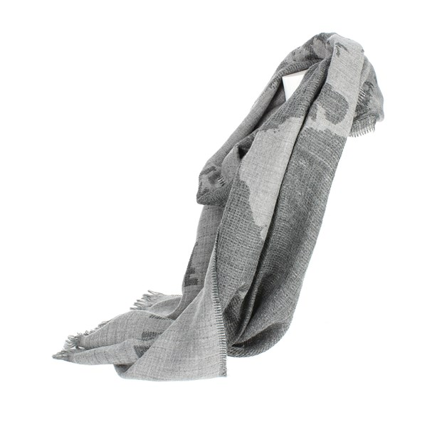 <1 Classe Accessories Scarves Grey K 1858 8506