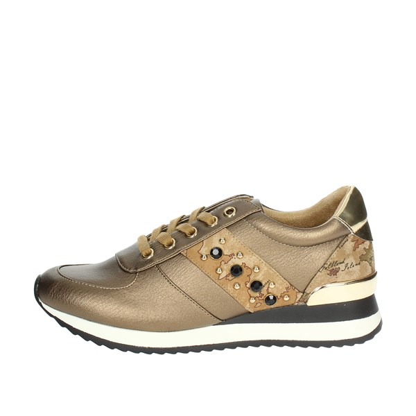1 Classe Shoes Sneakers Bronze  A845 513B