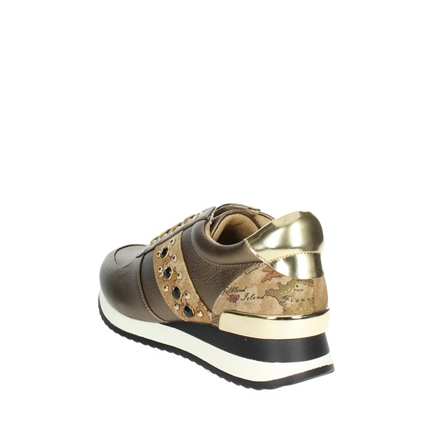 <1 Classe Shoes Sneakers Bronze  A845 513B
