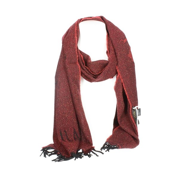1 Classe Accessories Scarves Burgundy K 0448 MUSI
