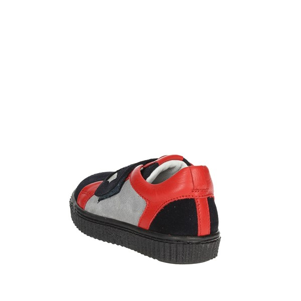 Alberto Guardiani Shoes Sneakers Blue/Red GK26209P