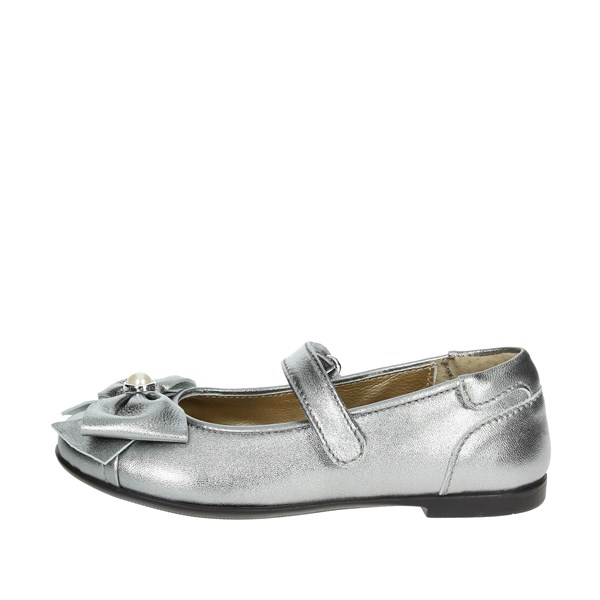 Viviane Shoes Ballet Flats Charcoal grey 8658-1