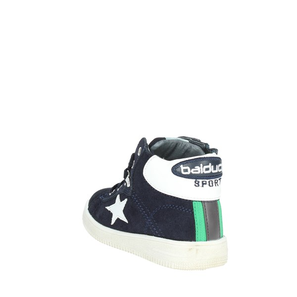 <Balducci Shoes Sneakers Blue BS105