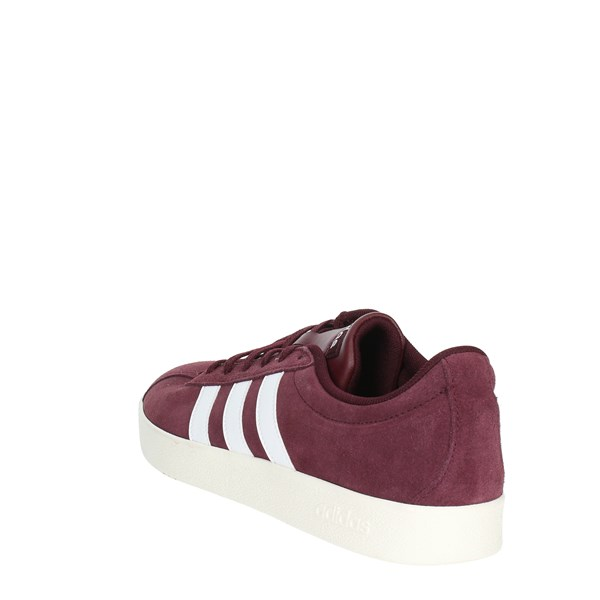 <Adidas Shoes Sneakers Burgundy B43809