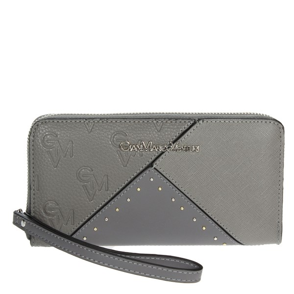 Gianmarco Venturi Accessories Wallet Grey G56-0050P44