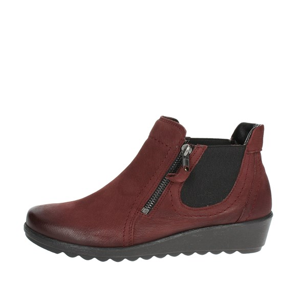 Easy'n Rose Shoes boots Burgundy 182-132
