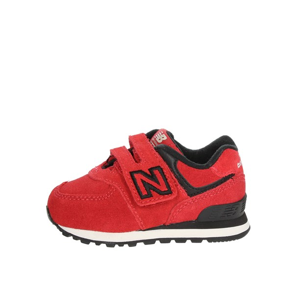 New Balance Shoes Low Sneakers Red IV574EO