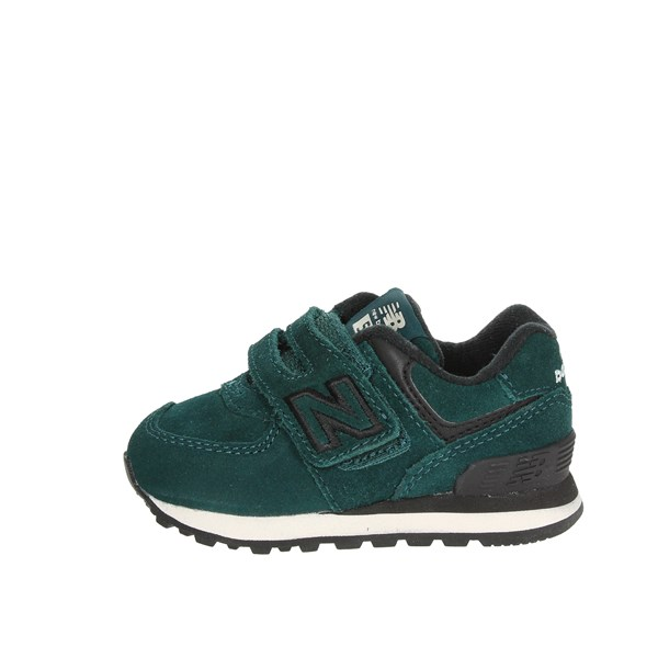 New Balance Shoes Low Sneakers Dark Green IV574EJ