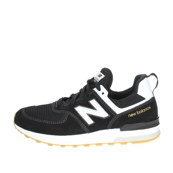New Balance Shoes Low Sneakers Black GS574ML