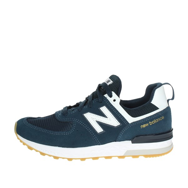 New Balance Shoes Low Sneakers Blue GS574MI