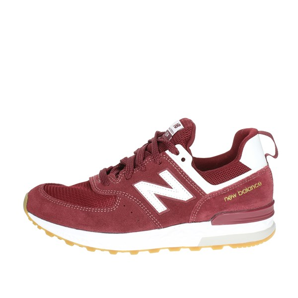 New Balance Shoes Low Sneakers Burgundy GS574MU