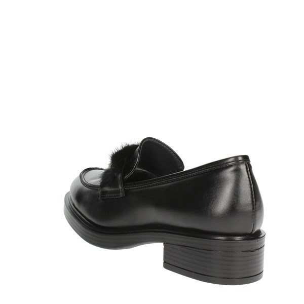 Comart Shoes Loafers Black 842764