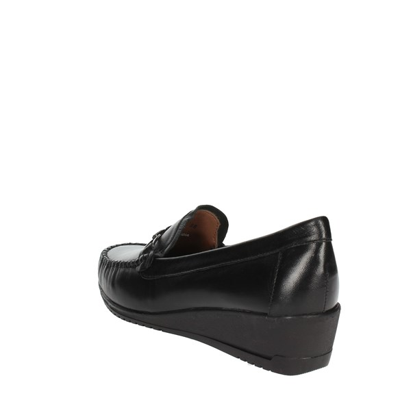 Sintonia Shoes Loafers Black CS2007-1