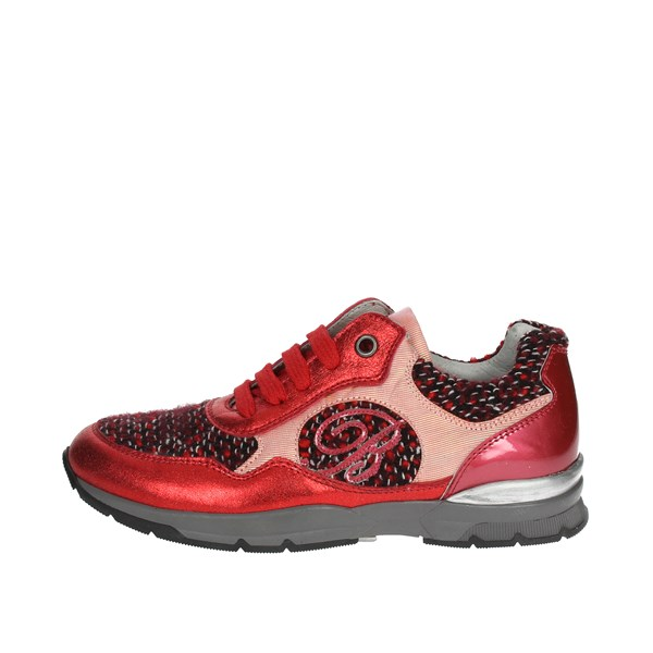 Blumarine  Shoes Sneakers Red D2630