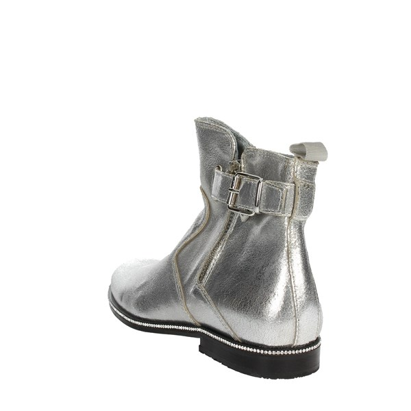 <Blumarine  Shoes boots Silver B4271