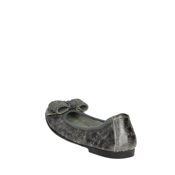 Blumarine  Shoes Ballet Flats Charcoal grey D2051
