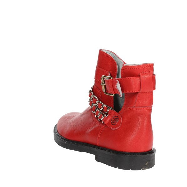 Blumarine  Shoes Ankle Boots Red D2226