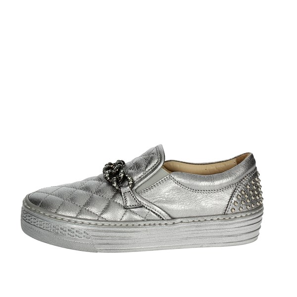Florens Shoes Sneakers Silver F0945